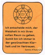Affirmationskarte