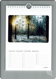 Energie-Dauerkalender