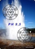 Wasserkarte PH 9,5