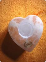 Herz Teellichthalter SELENIT
