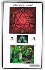 Kraftkarte für das Sternzeichen LÖWE