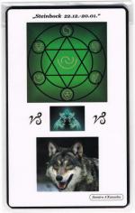 Kraftkarte für das Sternzeichen STEINBOCK