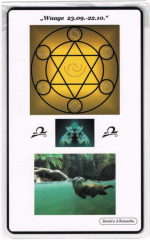 Kraftkarte für das Sternzeichen WAAGE