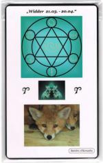Kraftkarte für das Sternzeichen WIDDER